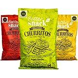 Better SnacksOrg Combo Churritos Organicos Snack, 85 gr (4 pzs)