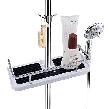 LEEFE Duschkorb Badezimmerablage Duschablage Korb Badezimmer, ohne ...