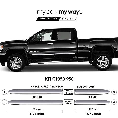 Amazon.com: My Car My Way (Fits) GMC Sierra-2014-2018 corto ...