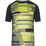 Canterbury Herren Vapodri Plus Superlight Graphic T-Shirt, Schwarz