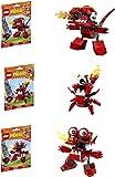LEGO, Mixels, Series 4 Bundle Set of Infernites, Meltus (41530), Flamzer (41531) and Burnard (41532)