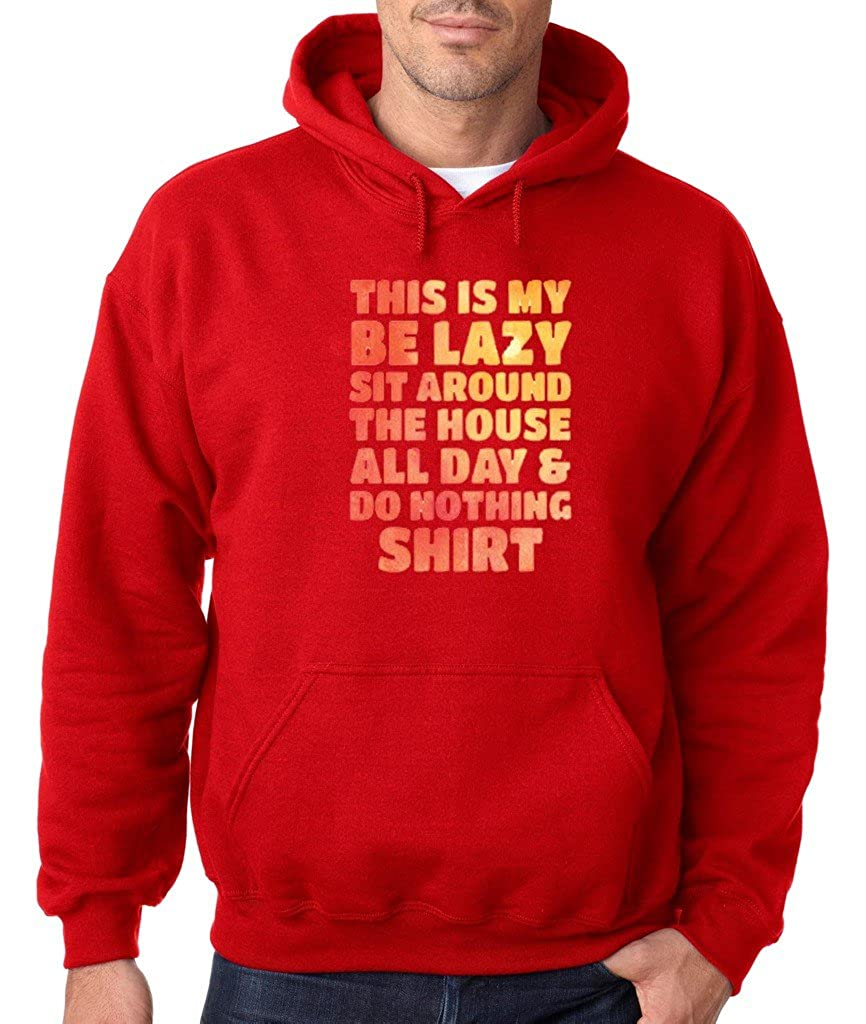 VISHTEA This is My Lazy Tshirt Hoodie Lazy Selective Participation Sweatshirt