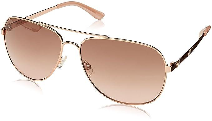 0ab54acfe6de Amazon.com: Juicy Couture Women's Ju 589/s Aviator Sunglasses, ROSE ...