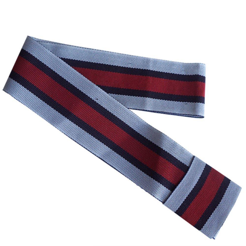 Gamboa Standard Genuine Panama Hat Band - White Blue and Red