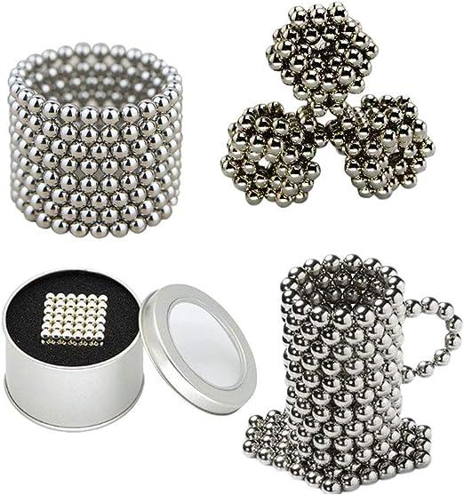 216 Magnetkugeln Ø 5 mm Kugelmagnete Kühlschrank Supermagnete Magnete mit Dose