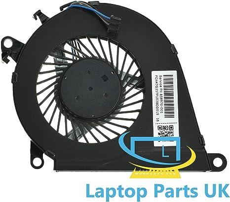 Ventilador de refrigeración para CPU Compatible con HP 15-ax217nf ...