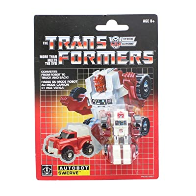 Transformers Vintage G1 Legion Class Autobot Swerve: Toys & Games