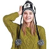 0cbb8b3757923 ZUMUii Butterme Womens Winter Warm Knitting Wool Cold Weather Hat with Soft Fleece  Lining Pom Pom…