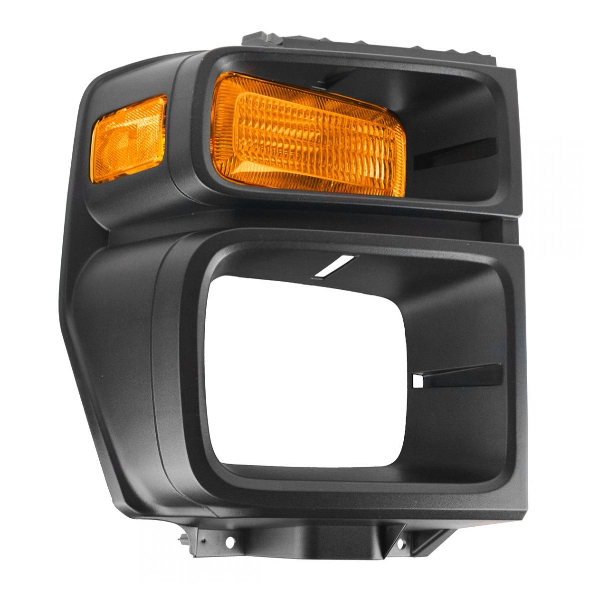 Headlight Trim Bezel w/Parking Turn Signal Light Lamp Passenger Right for E150 AM Autoparts