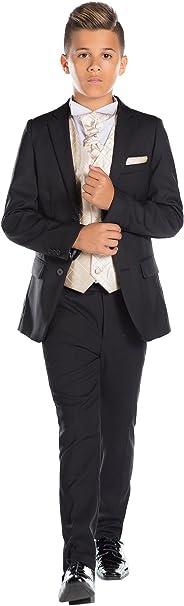 Paisley of London, niños Traje Negro, Slim Fit Suit, Diamante ...
