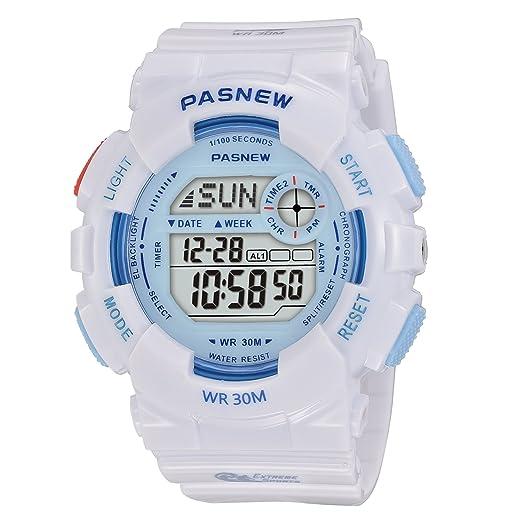 Kid s de los relojes digitales reloj deportivo, reloj digital, características Swim,