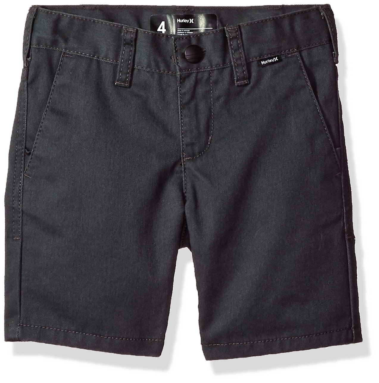 Hurley Boys' Little Walk Shorts, Anthracite, 6