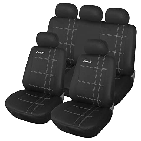Cool Amazon Com Adeco Cv0221 9 Piece Car Vehicle Protective Seat Pabps2019 Chair Design Images Pabps2019Com