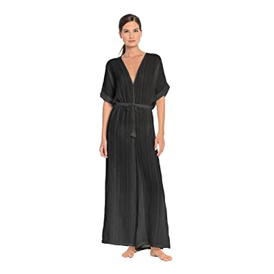 Robin Piccone Women's Michelle Wide Leg Jumpsuit Swim Cover Up at Women's Clothing store