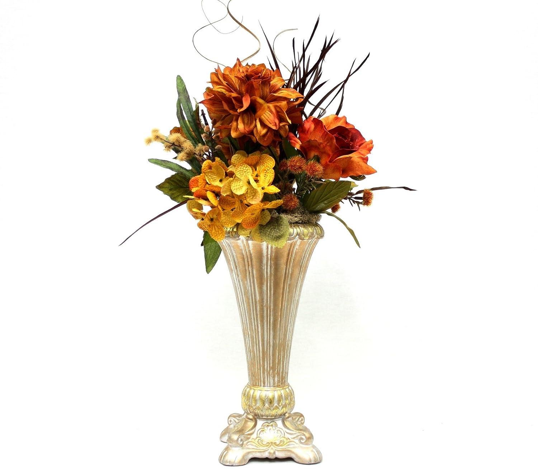 Amazon Silk Flower Arrangement Wedding Table Centerpiece
