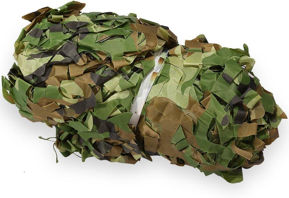 1,5/m x 7/m Oxford Stoff woodenland Camo Netz Jagd//Schie/ßen Hide Armee f/ür Camping Hide Zerone Camouflage Net