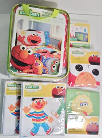 Sesame Street Toddler Bedroom Decor Everything Needed To Make The Perfect Sesame  Street Room  Toddler