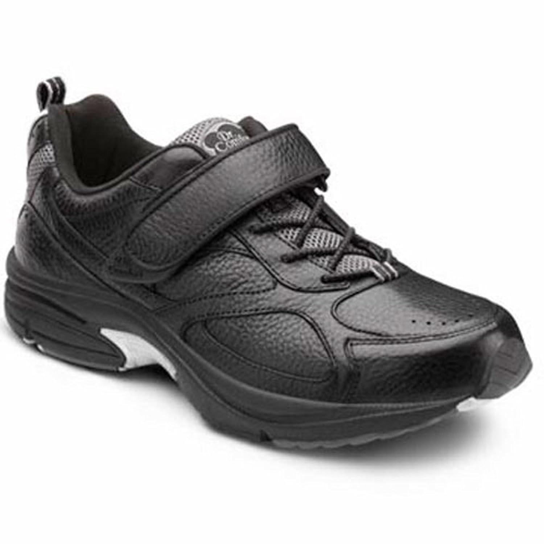 Dr. Comfort Winner Men's Therapeutic Diabetic Extra Depth Shoe Leather-and-Mesh Lace B00IOT33HG -7.0 X-Wide (3E/4E) Black Lace US Men Black