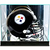 Perfect Cases Rectangle Football Helmet Display Case with Sport Moulding