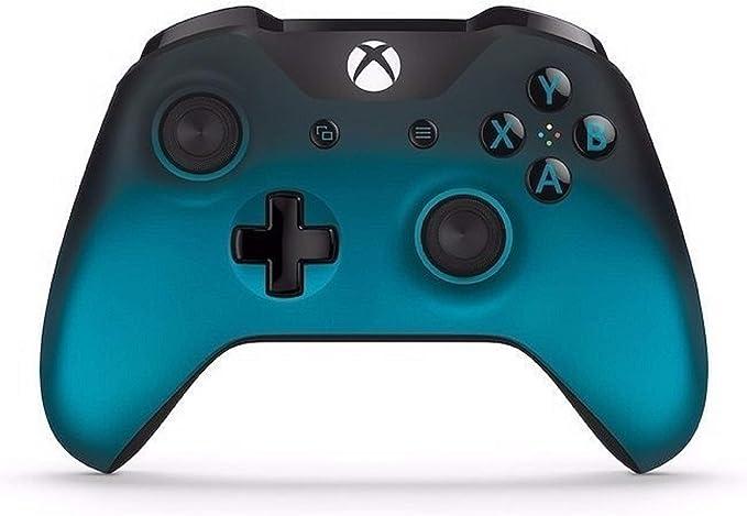 Microsoft - Mando Inalámbrico, Edición Sombra Oceánica (Xbox One), Bluetooth: Amazon.es: Videojuegos