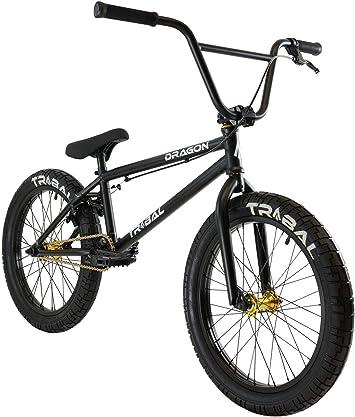 Tribal Dragon - Bicicleta BMX, Color Negro Mate: Amazon.es ...
