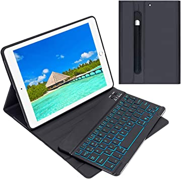 Enjoylife Funda para teclado para iPad 2018/2017, iPad Air 2 ...