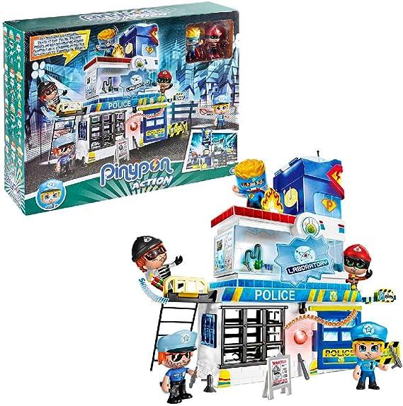 Pinypon Action - Trampas En La Comisaría (Famosa 700014493): Amazon.es: Juguetes y juegos