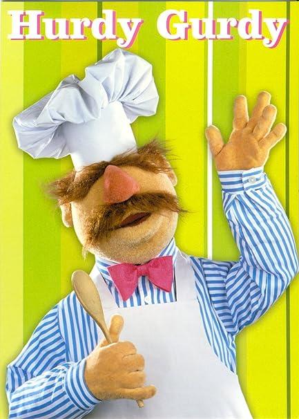 Hurdy Gurdy Swedish Chef The Muppets Birthday Card Amazon