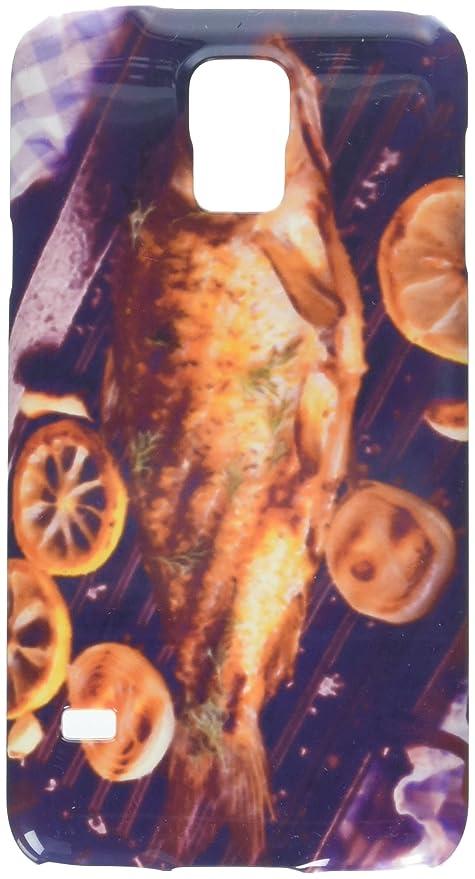 my-handy-design Parrilla para sartenes con diseño de carpa de pez con limón