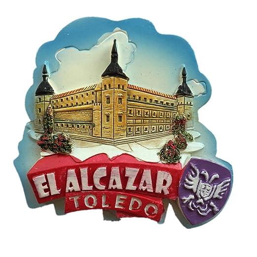 El Alcazar Toledo España Europa Ciudad Mundial resina 3d fuerte ...
