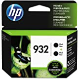 HP 932 | 2 Ink Cartridges | Black | Works with HP OfficeJet 6100, 6600, 6700, 7110, 7510, 7600 Series | CN057AN