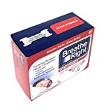 Breathe Right Extra Strength Tan Strips Reduces
