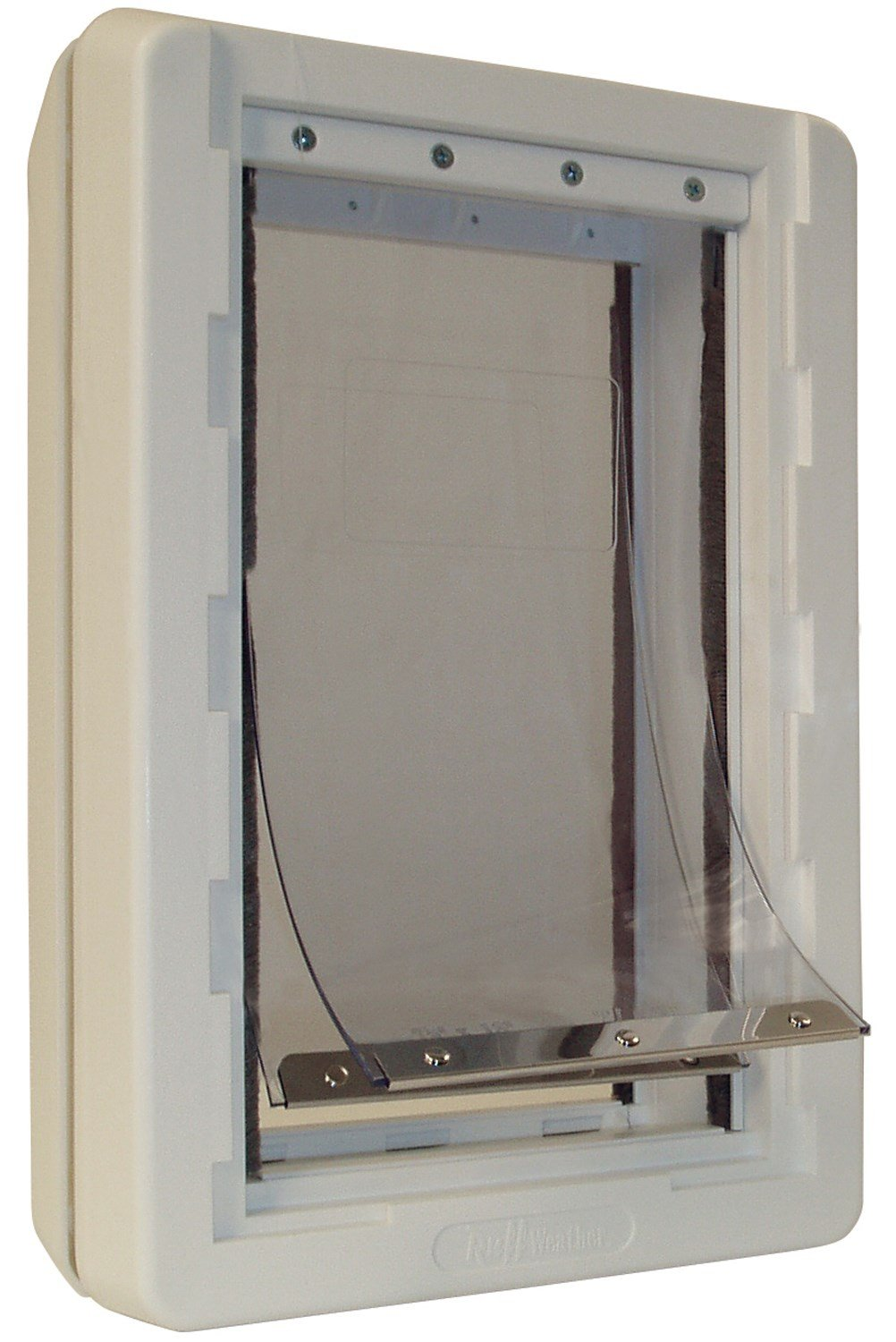 Ideal Pet Products Ruff-Weather Pet Door with Telescoping Frame, Medium, 7.25'' x 13'' Flap Size by Ideal Pet Products (Image #1)