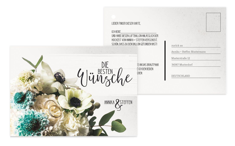 Ballonkarte Bouquet, 80 Karten, Rosa B07CQFFFWM   Neuer Eintrag    Hohe Qualität    Clever und praktisch