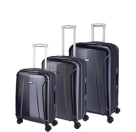 82260020b Travelite Rollkoffer-Set: Klassisch-Elegante, robuste Hartschalenkoffer