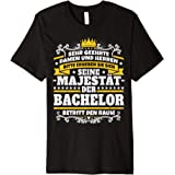 Lustiges Bachelor Geschenk I Abschluss Uni Studium T Shirt Amazon