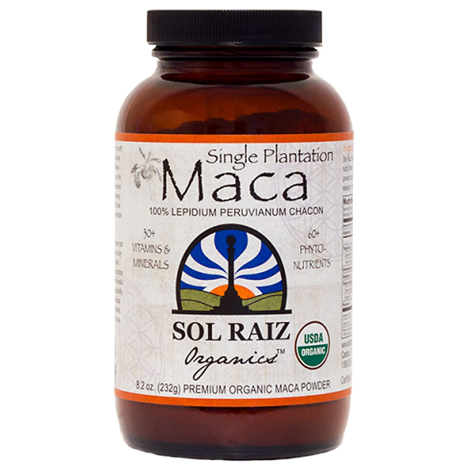 Amazon.com: SOL RAIZ ORGANICS Sol Raizs Maca Powder, 8.2 OZ: Health & Personal Care