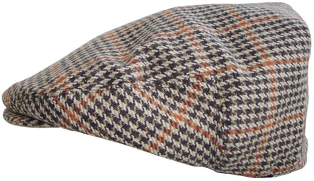 Mens Tweed Country Flat Cap GL228