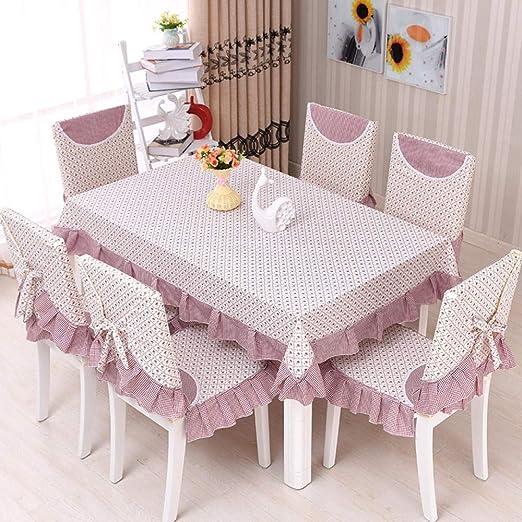 FGHOMEAQZB Manteles para el hogar, Juegos de sillas, tapetes Antideslizantes, Juegos de Mesa y sillas, manteles de Restaurante @ Perfume Lily_Cojín de Asiento (1 Almohadilla +1 Respaldo): Amazon.es: Jardín