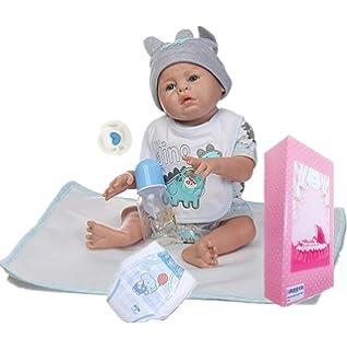 Amazon.com: NPKDOLL - Muñeca de bebé renacido hecha a mano ...