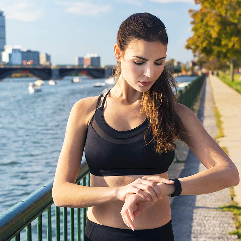 3 Pezzi Cinturino Classiche Braccialetti in Morbido Silicone per Fitbit Charge 3 e Special Edition con Custodia Protettiva Gratis apiker Cinturini per Fitbit Charge 3, Grande