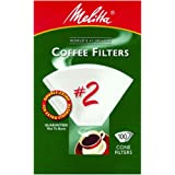 Melitta U S A Inc 622712 No. 2 Cone White Paper Filter, 100 Count
