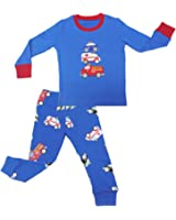 Mumkiss Kids Pajamas Set, 100% Cotton children Sleepwear and Leisurewear