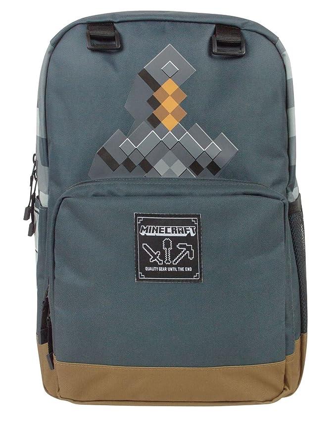ebad0b5111 Minecraft Sword Adventure Backpack  Amazon.co.uk  Luggage