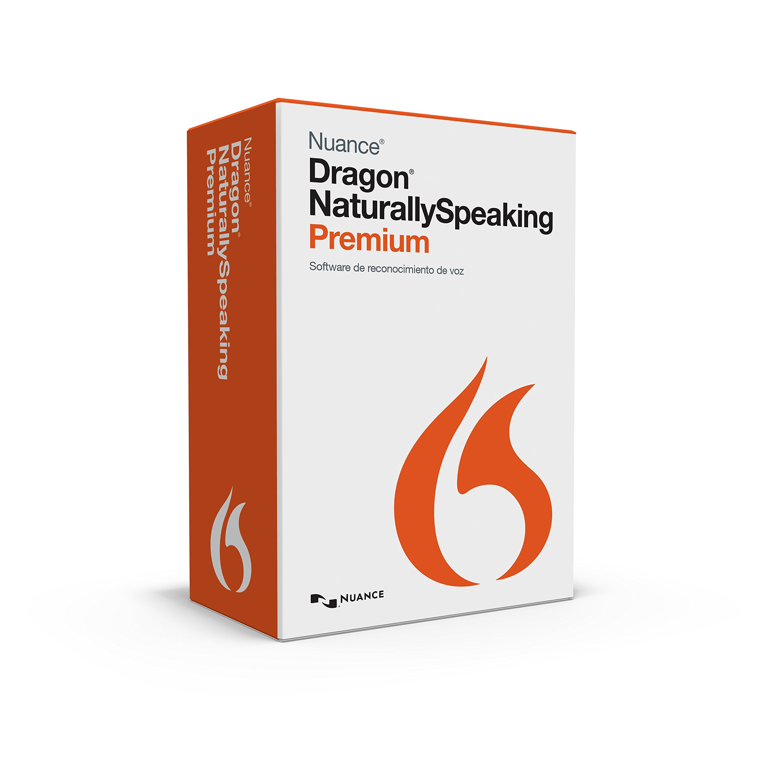 Dragon NaturallySpeaking Premium 13, Spanish (Discontinued) by Nuance Dragon