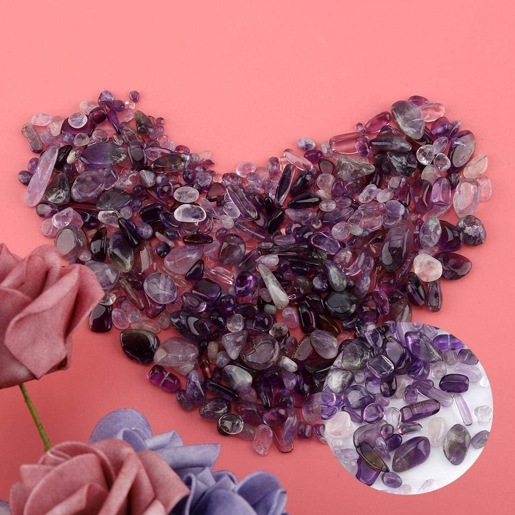 Boquite Astillas De Piedra,Piedra de Cristal Chips de Piedra Natural de Cristal trozos de Cuarzo triturado Blanco