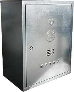 MISTERMOBY CASSETTA CONTATORE GAS / METANO ACCIAIO ZINCATO 45x30x25 CM +RESISTENTE, IL TOP