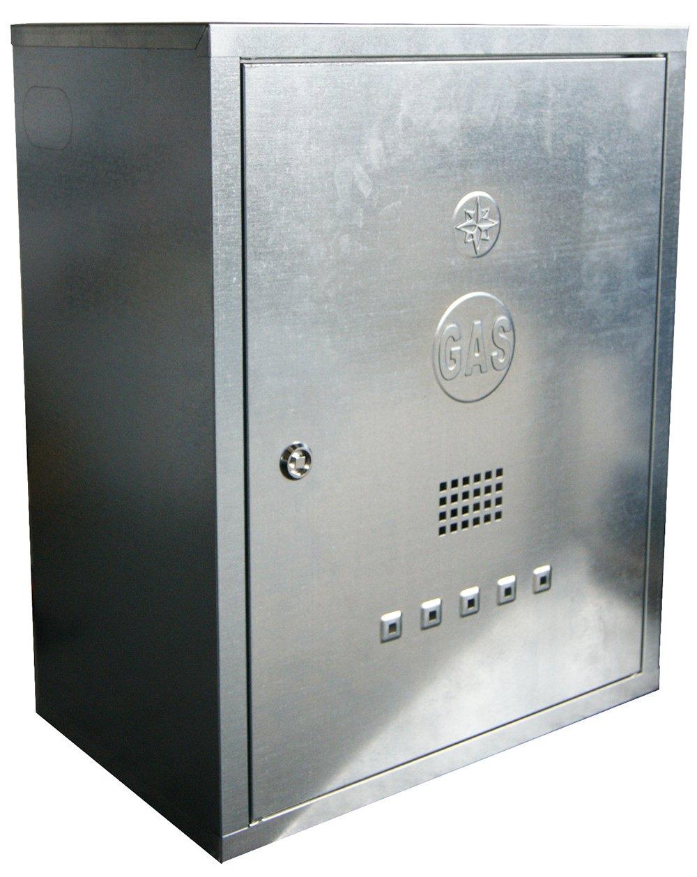 Cassetta Zincata Per Contatori Gas 60x45x25 Amazon It Fai Da Te