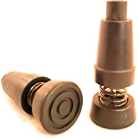 Pack of Extra Durable Rubber Replacement Tips (Replacement Feet/Paws/Ferrules/Caps) for Trekking Poles - Fits All Standard Hiking and Nordic Walking Poles