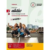 Aktiv. Kursbuch und arbeitsbuch. Per la Scuola media. Con e-book. Con espansione online. Con CD-Audio: 2